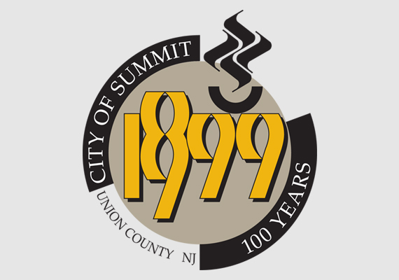 Logo for the City of Summit centennial promotion.